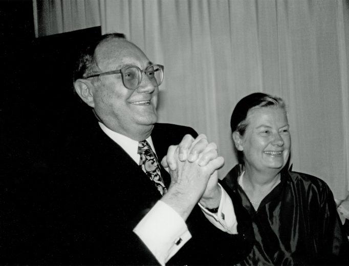 Die Stifter<br>Heinz Wilhelm Schoof 12. November 1924 – 13. Juni 2001<br>Sylvia-Barbara Schoof 5. März 1927 – 17. Februar 2013