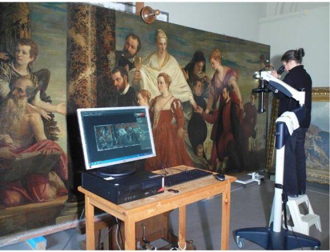"Restaurierung des Gemäldes »Die Madonna der Familie Cuccina« von Paolo Veronese.<br><span style=""font-family:CorporateS-Regu; font-size:0.7em;color: #517071;"">Mehr lesen…</span>"